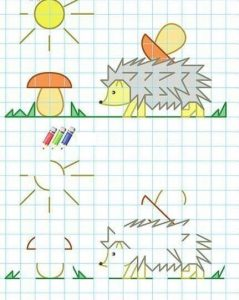 hedgehog-coloring-pages