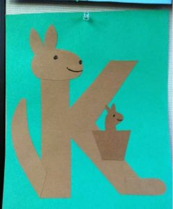 kangaroo-craft-made-from-letter-k