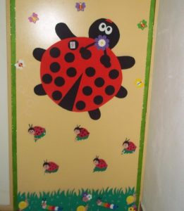 ladybug door decorations (2)