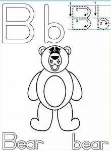 letter-b-bear-handwriting-worksheets