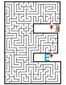 letter E maze (2)