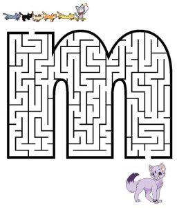 letter M maze (1)