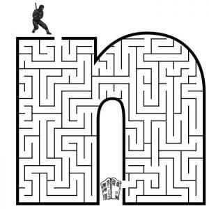 letter N maze (1)