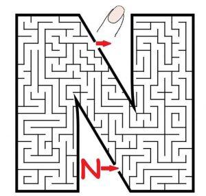 letter N maze (2)