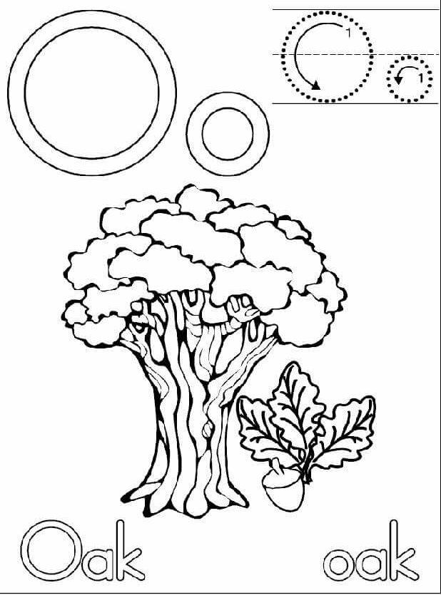 letter-o-handwriting-worksheets-for-kida Â« funnycrafts