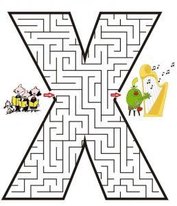 letter X maze (1)