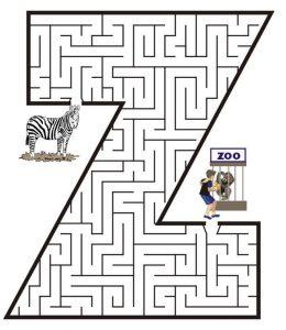 letter Z maze (3)