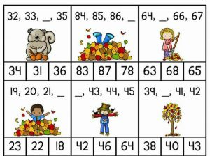 missing numbers for kids