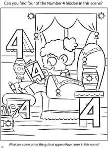 number-4-hidden