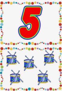 number-5-card