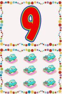 number-9-card