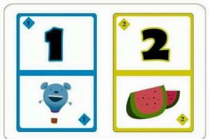 number flash kids cards