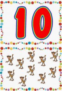 number-ten-card