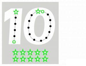 number-ten-lacing