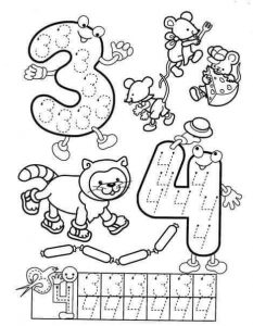 number-three-and-number-four-handwriting-sheets-for-kids
