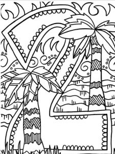number-two-coloring-page