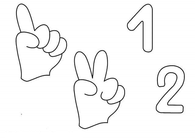 number-two-learning-coloring-pages-6 « Preschool and ...