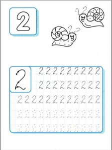 Free Printable Handwriting Number Sheets For Children The