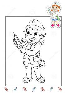 nurse-coloring-page