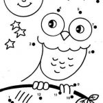 Easy dot to dot worksheets
