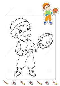 painter-coloring-page-2