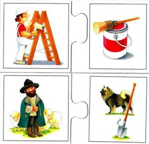 painter shepherd flash cards for kids