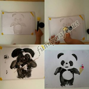 panda-painting-activities