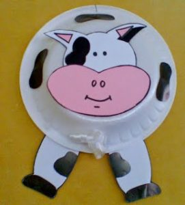 paper-plate-cow