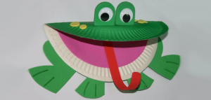 paper-plate-frog-craft