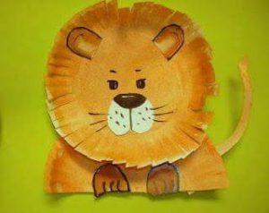 paper-plate-lion-craft-for-preschoolers-and-kindergarten-children-1
