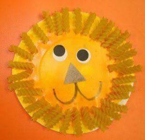 paper-plate-lion-craft-for-preschoolers-and-kindergarten-children-7