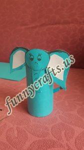 paper-roll-elephant-craft