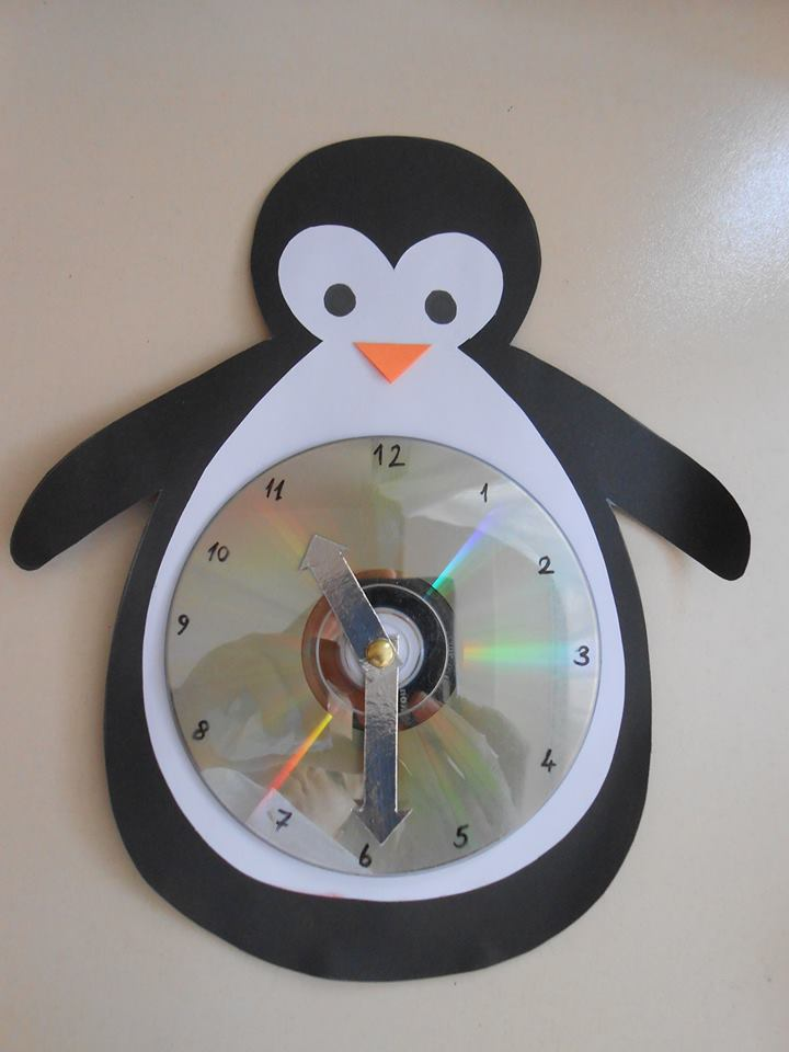 penguin-clock-project « Preschool and Homeschool