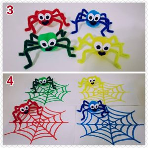 pipe-cleaner-spider-crafts