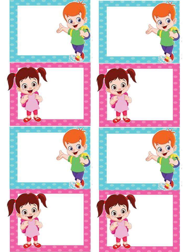 Preschool name tag template ideas 12 preschool and for Door name tag template