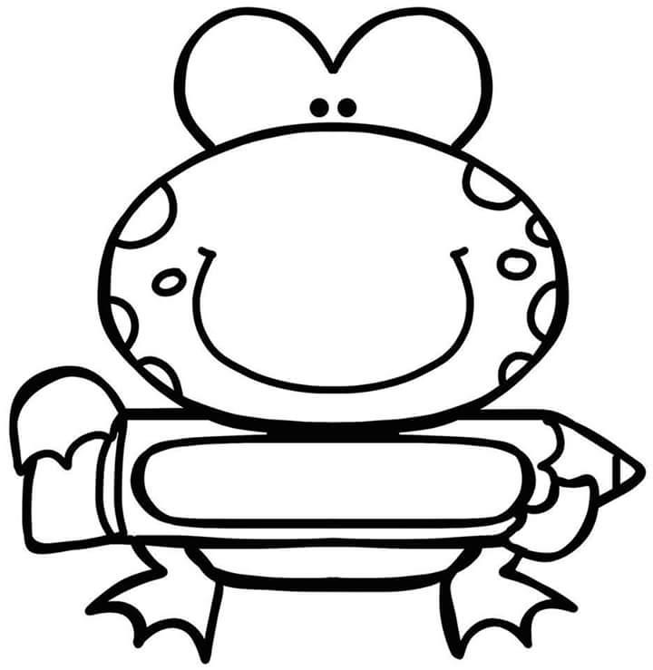 Preschool Name Tag With Frog 11 171 Preschool And Homeschool