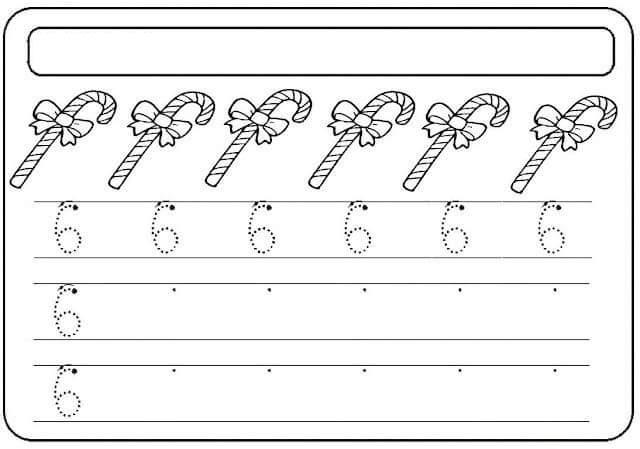 Preschool-number-six-learning-worksheets-2 « Funnycrafts