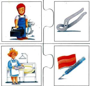 professions flashcards for kids