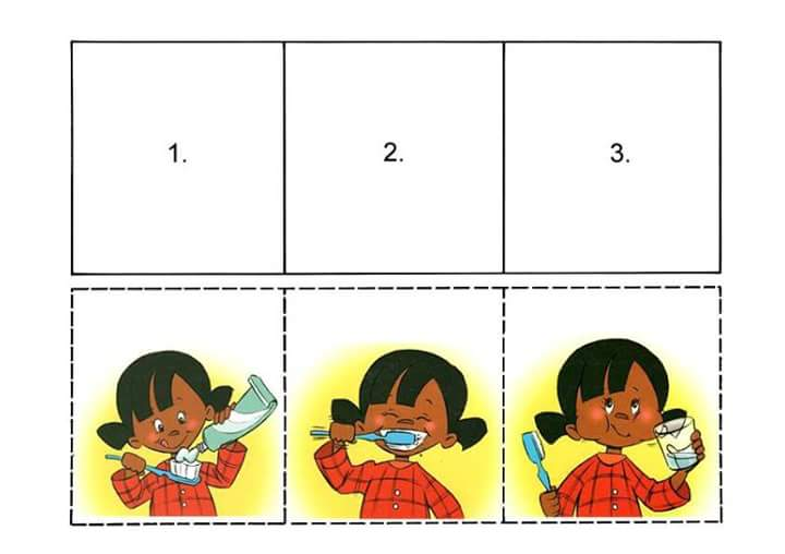 Put The Pictures In The Right Order 171 Preschool And Homeschool