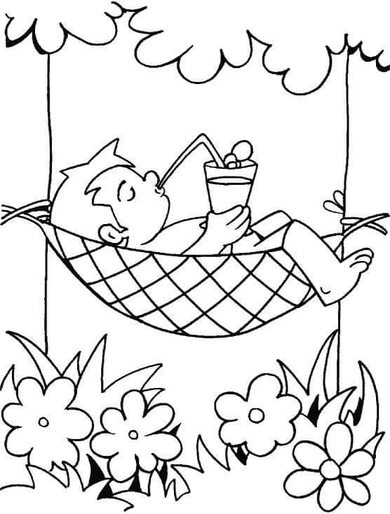 Summer Coloring Pages Season 2