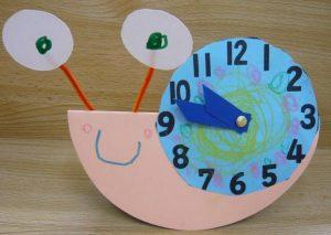 snail clock craft (2)