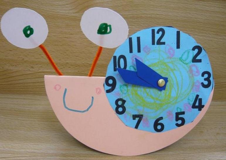 snail-clock-project « Preschool and Homeschool