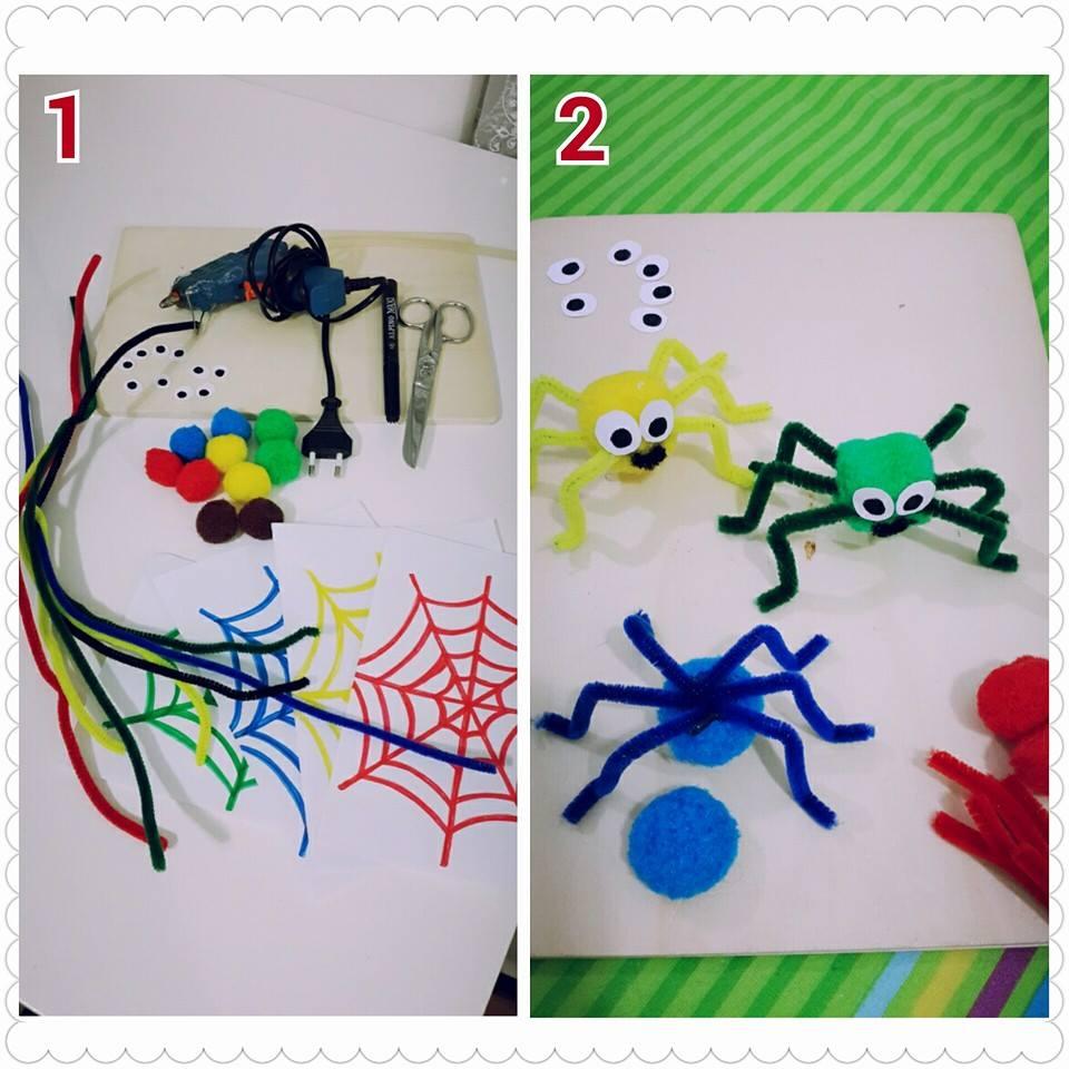 Spider craft preschoolers funnycrafts for Spider crafts for preschoolers