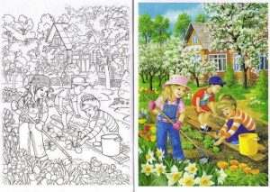 spring-coloring-pages
