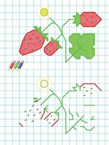 strawberry-coloring-pages