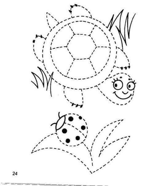 turtletracingsheet funnycrafts