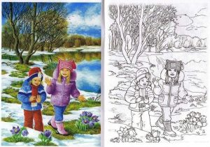 winter-coloring