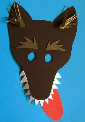 Wolf Mask Template 171 Preschool And Homeschool