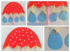3dumbrellacraftsforkids3 Preschool and Homeschool