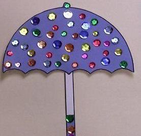 3d Umbrella Crafts For Rain Day 3